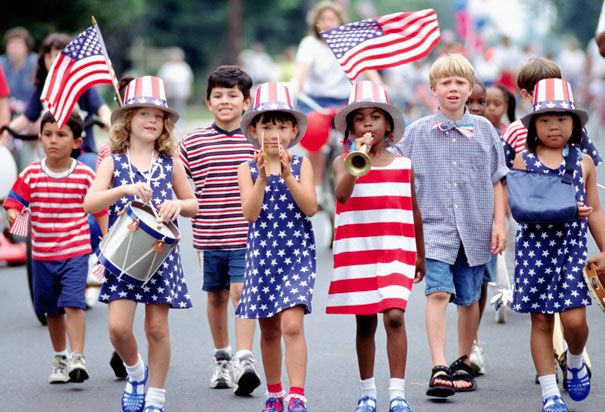 America Celebrates Independence Day On July 4