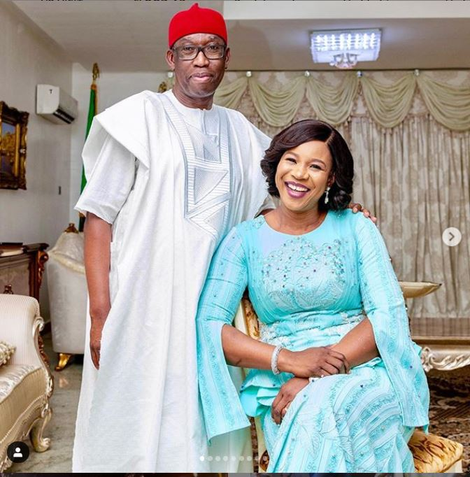 Delta State Governor Ifeanyi Okowa, His Wife And Daughter Recover From COVID-19