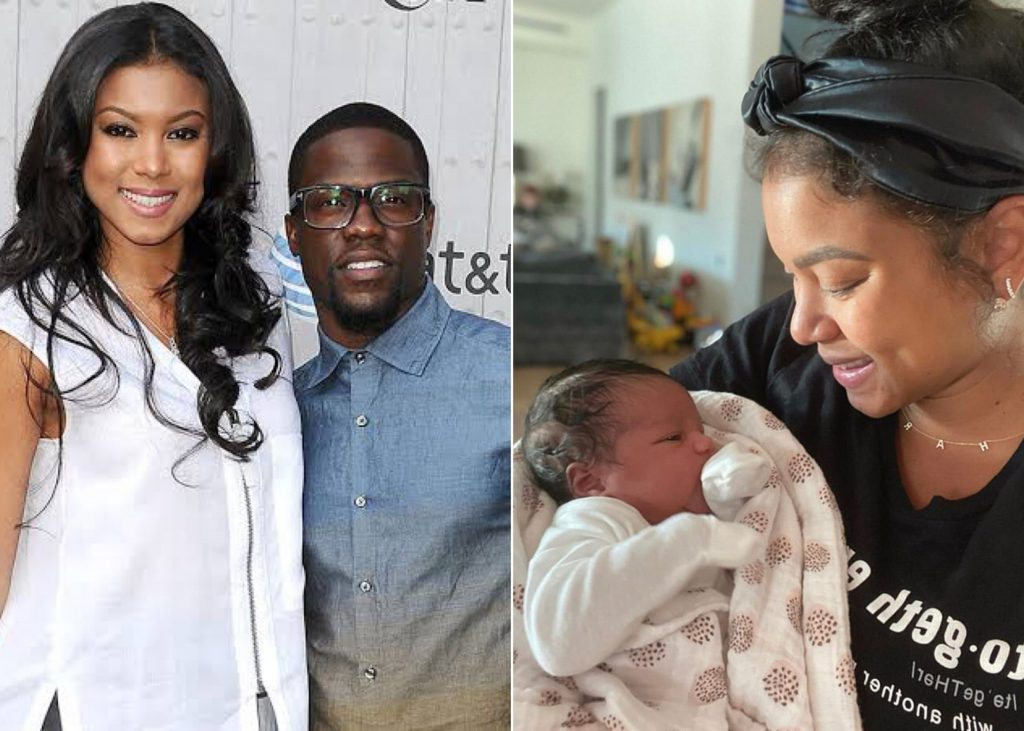 Kevin Hart And Wife Eniko Hart share photo Of Their Newborn Daughter
