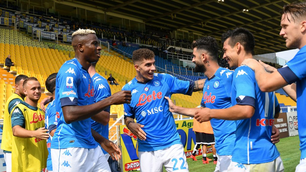 Napoli Beats Spezia 4-2 To Reach Italian Cup Semi-Finals