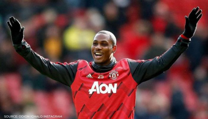 Odion Ighalo Bids Manchester United Farewell