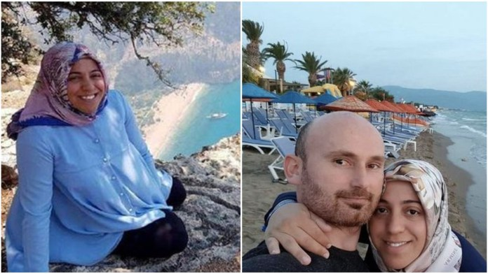 Video Shows Moments Before Man Allegedly Pushed Pregnant Wife Off Cliff So He Could Cash In On Her Life Insurance