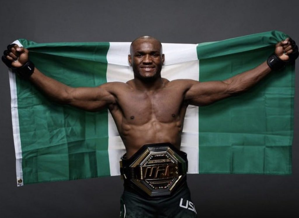 I Hawked Fufu Before Relocating Abroad – Nigerian Born UFC Superstar, Kamaru Usman
