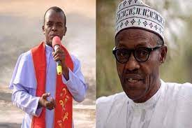 """""""The House of Representatives should impeach the president if he doesn't want to resign""""- Fr Mbaka says"""