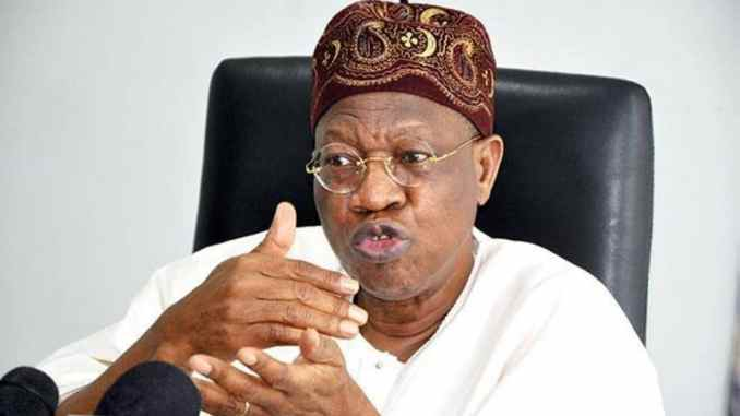 Any social Media Platform Used To Bring Down Nigeria Will Be Suspended – Lai Mohammed Warns