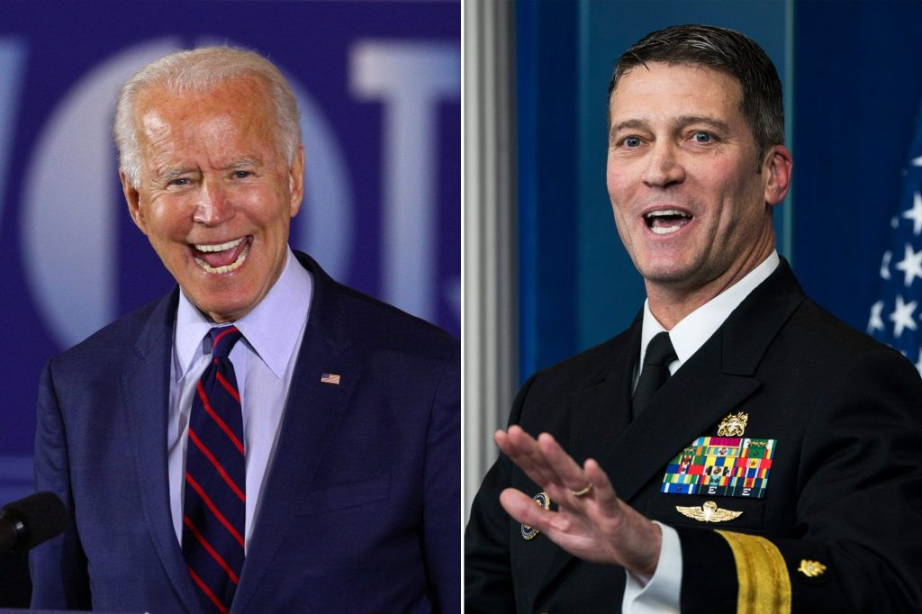 """'""""He's Completely LOST It! Biden Will Be Forced To Resign – Former White House Doctor, Ronny Jackson Predicts As He Questions US President's Cognitive Ability"""